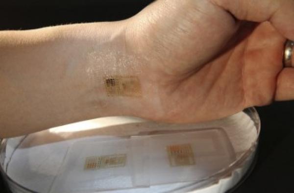 Электронная «татуировка» поможет следить за состоянием здоровья