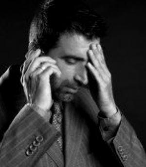 Стрессы в работе бизнесменов